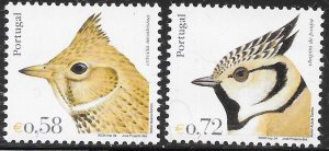 Portugal 2621-2628 MNH -  Birds of Portugal