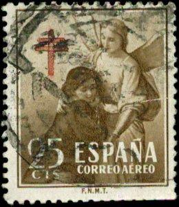 Spain Scott #RAC13 Used  Air Mail Postal Tax
