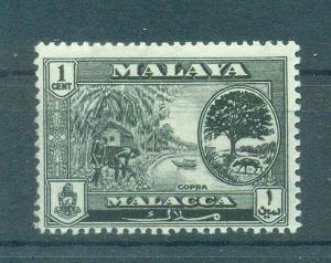 Malaya - Malacca sc# 56 (2) mh cat value $.25