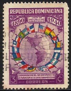 Dominican Republic 1940 Scott# 353 Used