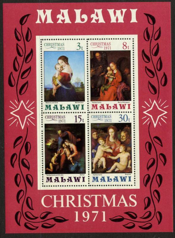 Malawi 181a MNH Christmas, Art