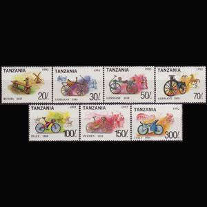 Tanzania MNH 985l-O Bicycles 1992