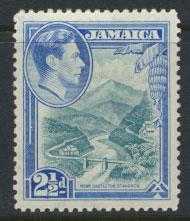 Jamaica  SG 125  - Mint very light trace of hinge - see scan and details