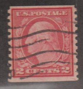 U.S. Scott #452 Washington Coil Stamp - Used Single