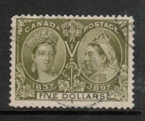 Canada #65 Very Fine Used With Light CDS Cancel