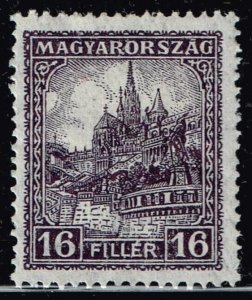 HUNGARY STAMP 1926 -1927 Definitive Issues - MH/OG 16F