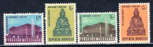 Indonesia 1963: Sc. # 604-609; **/MNH Cpl Set