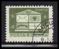 Romania Used Fine D36957