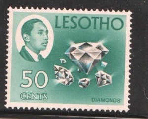 1967    LESOTHO  -  SG: 157 - DIAMONDS  -  UNMOUNTED MINT