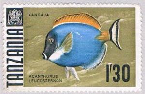 Tanzania 29 MNG Surgeonfish 1967 (BP31826)