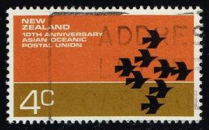 New Zealand #496 Asian-Oceanic Postal Union; Used (0.30)