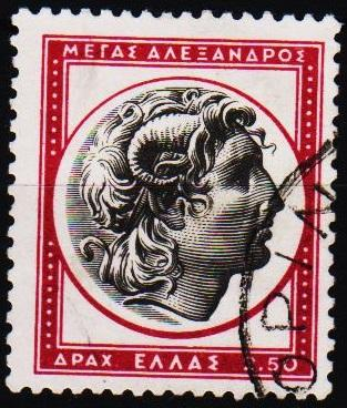 Greece.1955 2d50 S.G.738a Fine Used