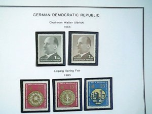1965  German Democratic Republic  MNH  full page auction