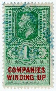 (I.B) George V Revenue : Companies Winding Up 1/-