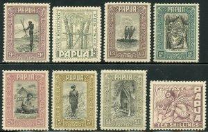 PAPUA NEW GUINEA SCOTT #94/109   MINT HINGED SCOTT VALUE $640.00