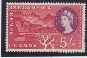 Kenya Uganda Tanganyika SG 196  Mint Never Hinged