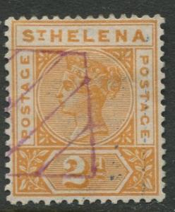 St.Helena - Scott 43 - QV Definitive -1896 - VFU - Single 2p Stamp