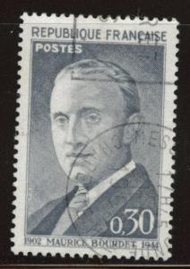 France Scott 1021 Used stamp