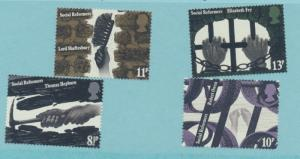 Great Britain Scott #689 To 693, British Explores Issue From 1973 - Free U.S....
