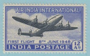 INDIA  C7 MINT NEVER  HINGED OG * NO FAULTS VERY FINE !