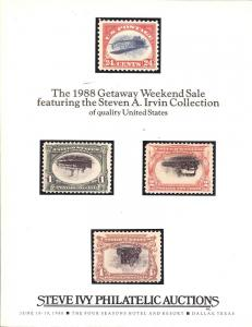The 1988 Getaway Weekend Sale featuring the Steven A. Irv...