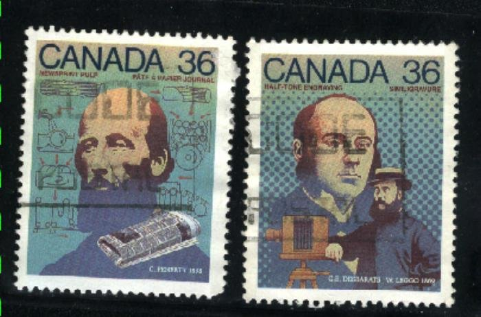 Can #1136-37   used VF 1987 PD