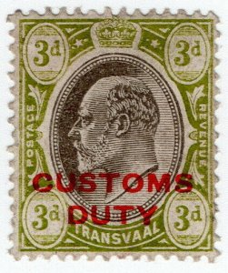 (I.B) Transvaal Revenue : Customs Duty 3d