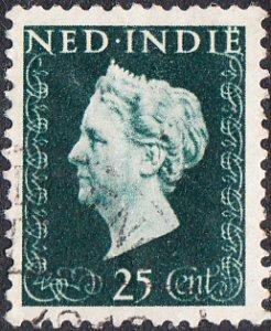 Netherlands Indies #283  Used