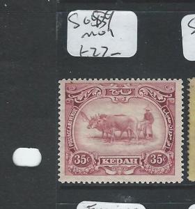 MALAYA KEDAH  (P0410B) 35C  SG 59  MOG