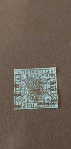 German States Bergedorf #1