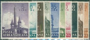 Vatican C35-44 NH SET CV $2.55 BIN $1.50
