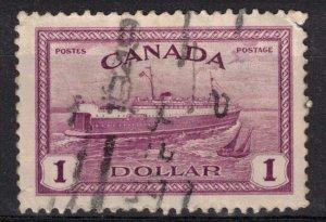 CANADA - $1 Train Ferry SC273 Used