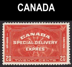 Canada Scott E4 F to VF mint OG H.