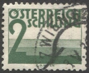 AUSTRIA 1925  Sc J156  2s Postage Due Used  VF