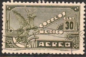 MEXICO C173, 30c 1934 Definitive Wmk Gobierno...279 Used (939)