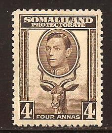 Somaliland Protectorate  #  100  Mint