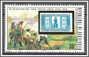 Upper Volta #352 Stamps On Stamps CTO