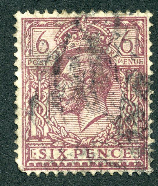 167 Great Britain - Used - wmk 33, p15x14