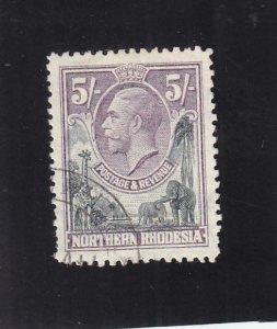 Northern Rhodesia: Sc #14, Used (36214)