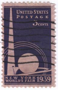 United States, Scott # 853 (2),  Used