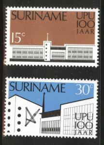 Suriname Scott 417-418 mnh** 1974  set