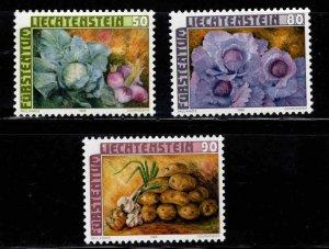 LIECHTENSTEIN Scott 852-854 MNH** Produce set