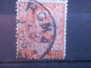 ITALY, 1901, used 20c , Scott 80