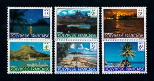 [71649] French Polynesia 1979 Landscapes  MNH