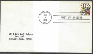 United States FDC # 1511