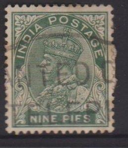 India Sc#135 Used