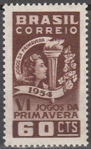 Brazil #814 F-VF Unused