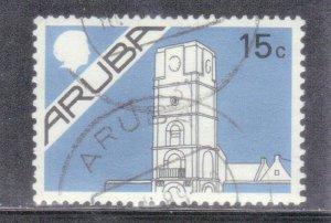 ARUBA  SCOTT# 2  **USED** 15c   1986-87   SEE SCAN