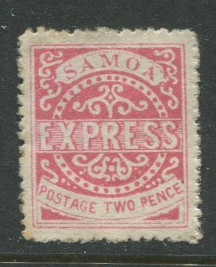 Samoa - Scott ? - Definitive Issue 1877-82 - MNG - Single 2p Stamp