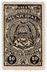 (I.B) Honduras Revenue : Duty Stamp 10c